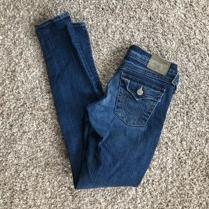 True religion Julie skinny jeans size 28